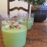 Chilled Cucumber and Avocado Soup