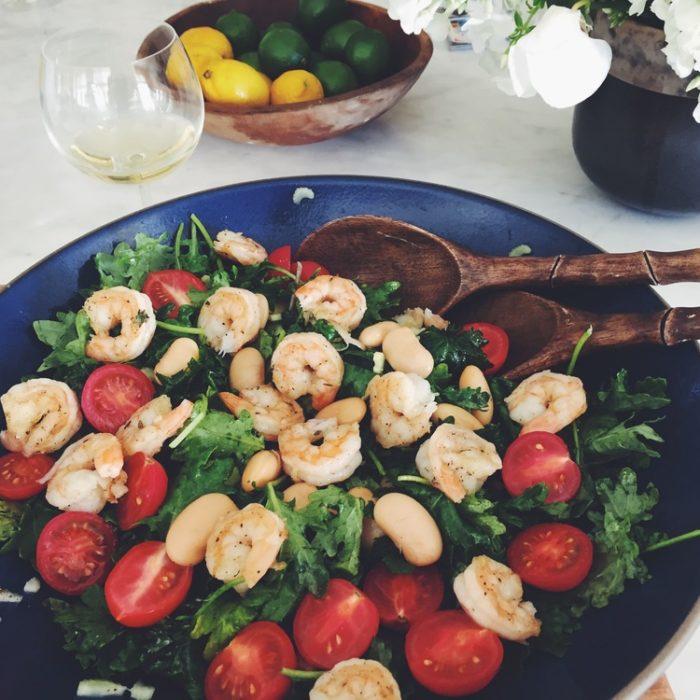 Shrimp and Tuscan Beans Salad