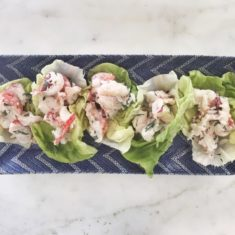 Lobster Lettuce Cups