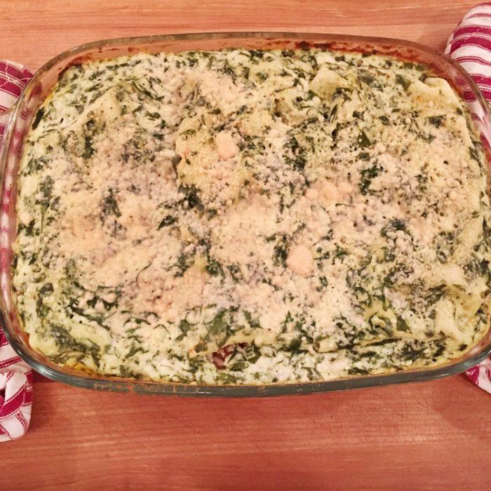 Ricotta Chicken Lasagna