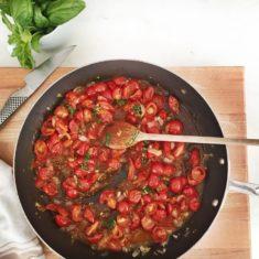 Cherry Tomatoes sauce