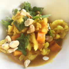 Chicken and Veggie Curry