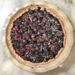 Classic Blueberry Tart