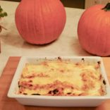 Pumpkin-Turkey Lasagna