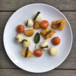 Fall sweet potato and pumpkin gnocchi