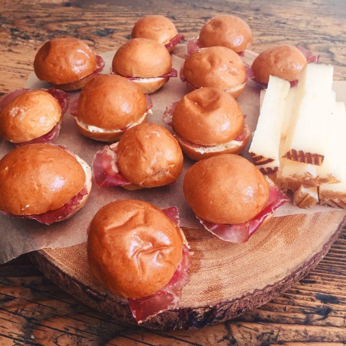 Mini Brioche Sandwiches
