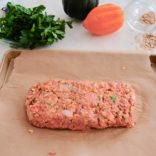 Pumpkin Turkey Meatloaf