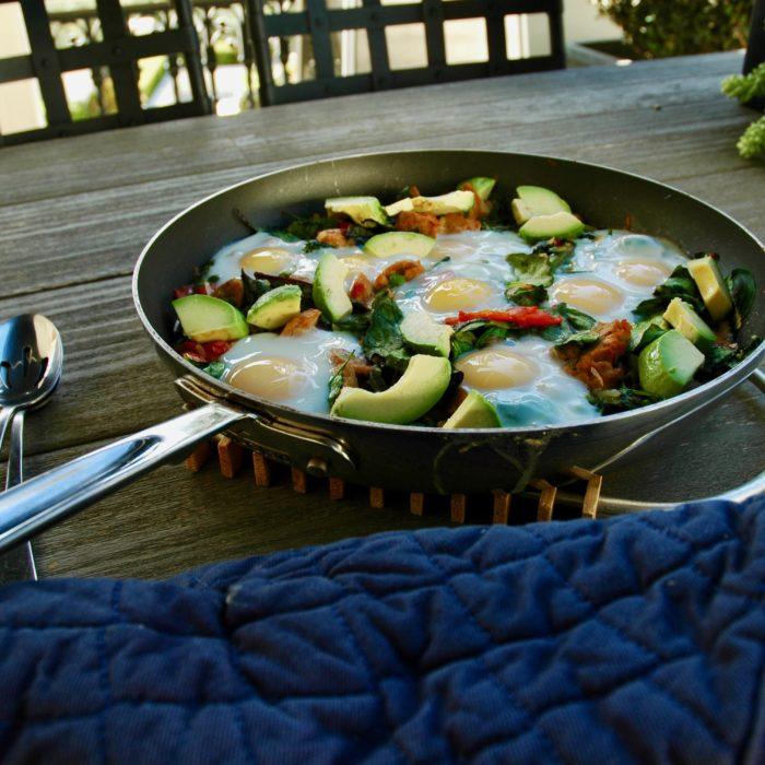 Turkey sausage egg casserole