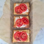 Goat Cheese Tomato Tartlets