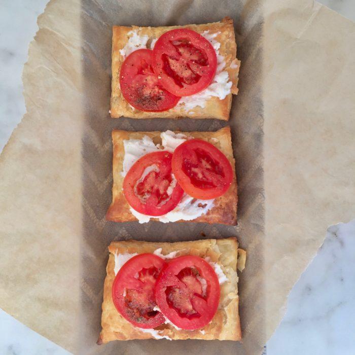 Goat Cheese Tomato Tartlets