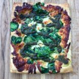Pesto, spinach Pizza