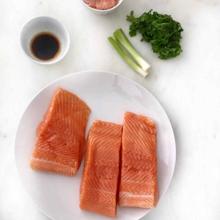 Asian Salmon Burgers