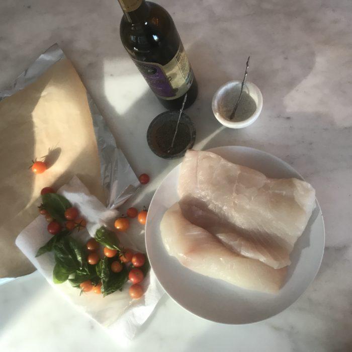 Italian fish packets