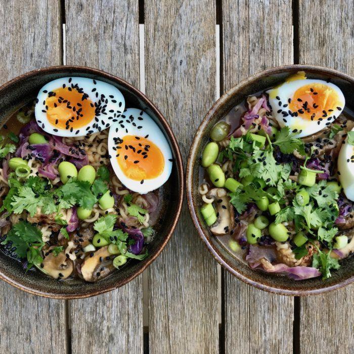 Chicken Ramen Bowls