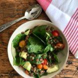 Simple Green Lentils