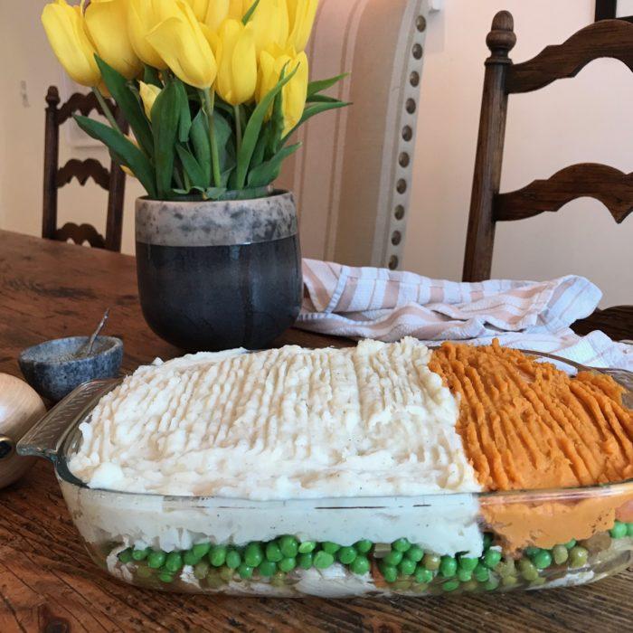 Slow Cooker Chicken Shepherd Pie
