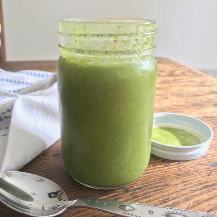 Kale Asparagus Soup