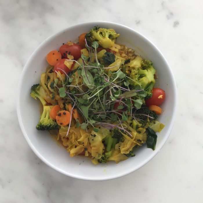Veggie Curry Bowl