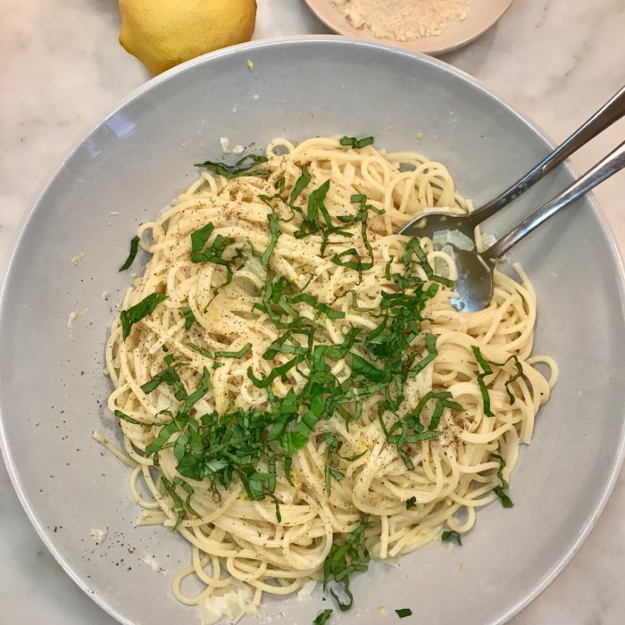 Lemon- Basil Pasta