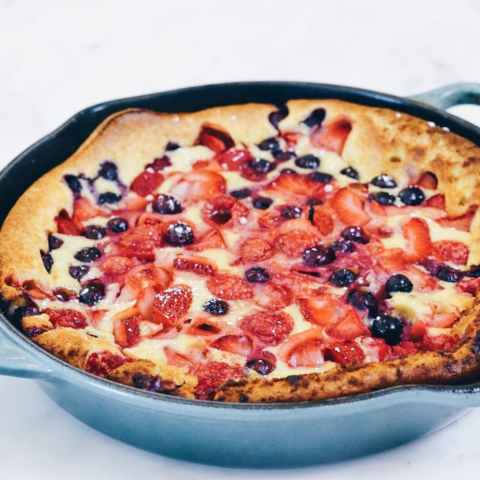 Mixed Berries Clafoutis
