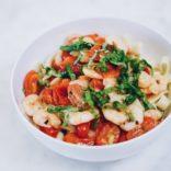Shrimp - Tomato Spaghetti