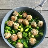 1 Pan Turkey Meatballs and Veggies