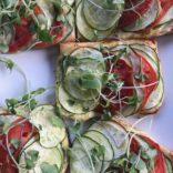 Summer veggies tartlets