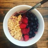 Mixed Berries Overnight Oats