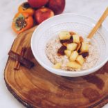 Hazelnut Rice Pudding