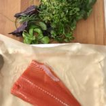 Roasted Salmon with Fresh Herbs