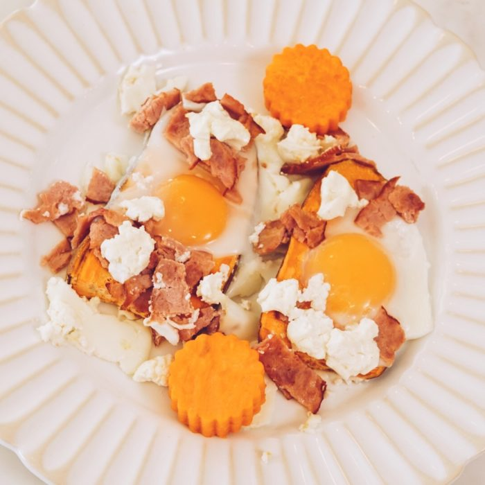 Sweet potato breakfast