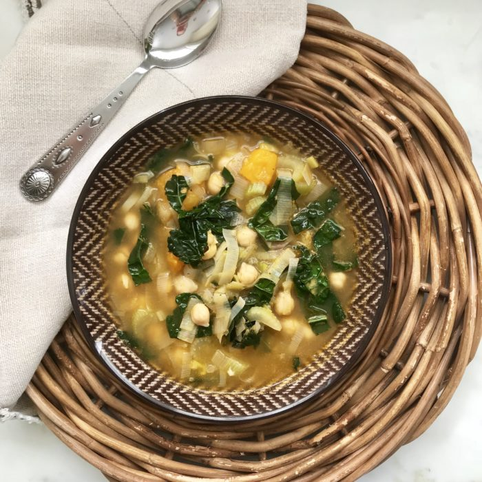 Sicilian chickpea soup