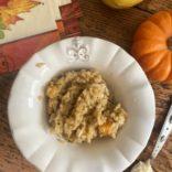 Butternut squash-mushroom risotto