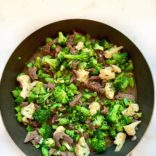 Beef and veggies stir fry