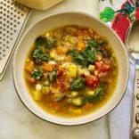 Insta pot summer minestrone