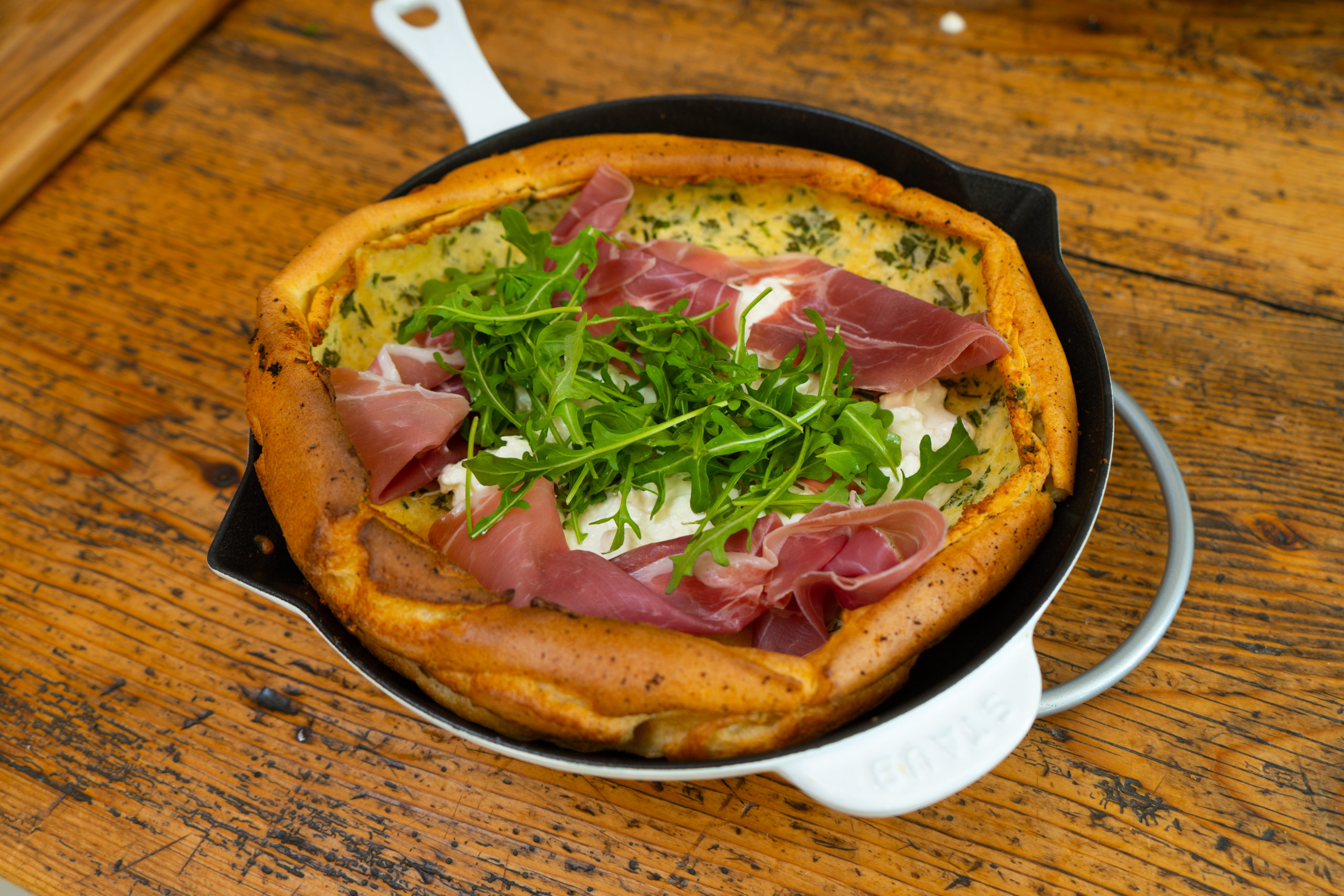 Savory Dutch pancakes