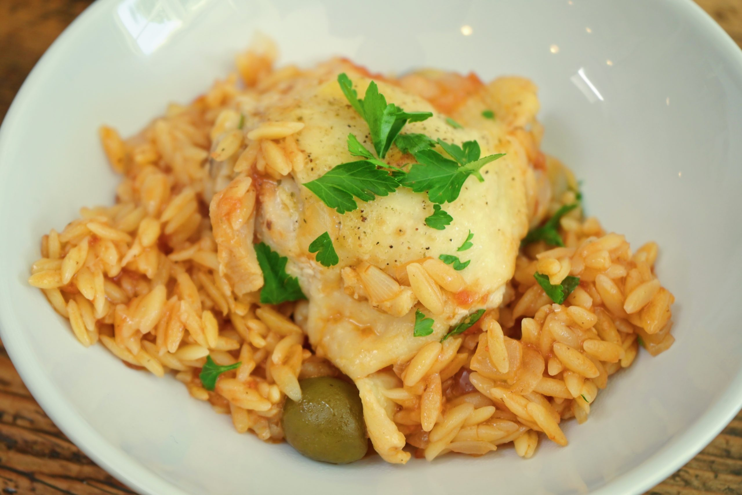 Chicken and Orzo pasta