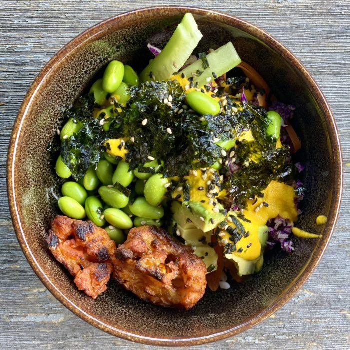 Vegetarian sushi bowls