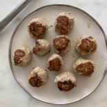 Mediterranean turkey meatballs