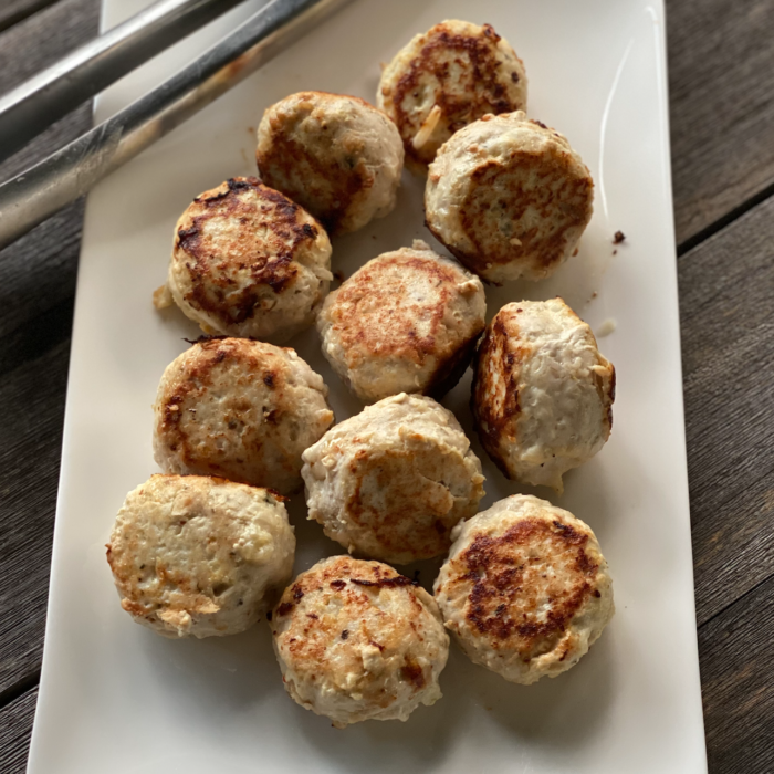 Turkey cauliflower meatballs