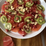 Citrus kiwi breakfast salad