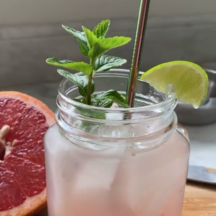 Paloma inspired mocktail