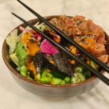 Spicy tuna sushi bowl