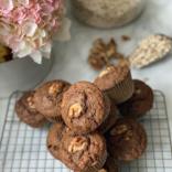 Amazingly fluffy oat bran muffins