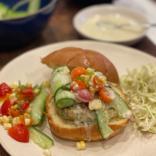 Wild cod burger that your kids will love